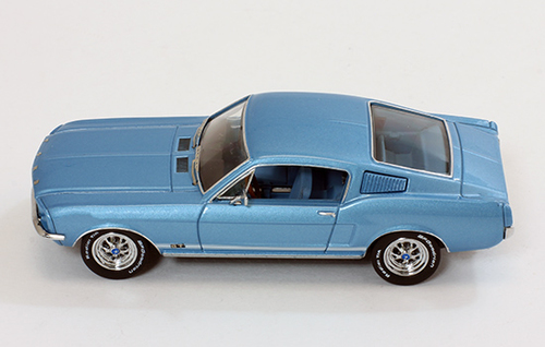 Premium X 1967 Ford Mustang Gt Fastback Blue